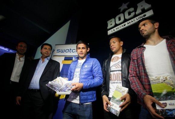 Boca y Swatch presentaron el reloj exclusivo del club