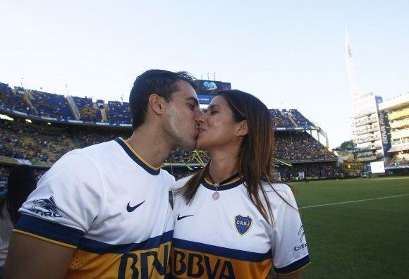 Da de los enamorados xeneizes  Futbol