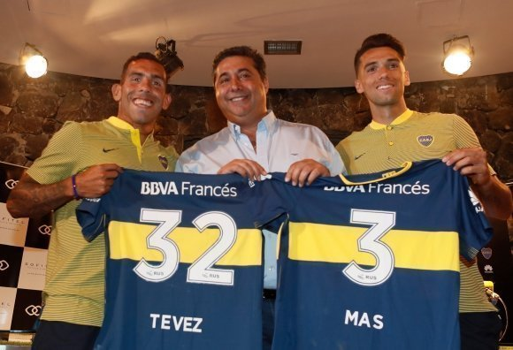 Boca Juniors/ Tévez