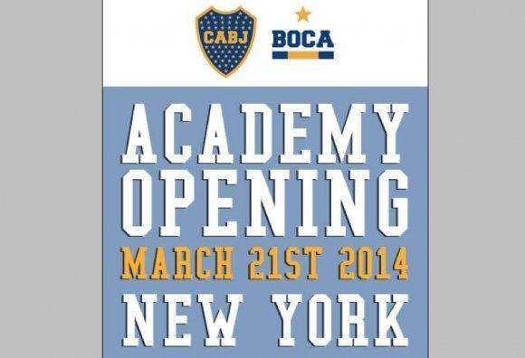 Boca Juniors abre una academia de fútbol en Nueva York