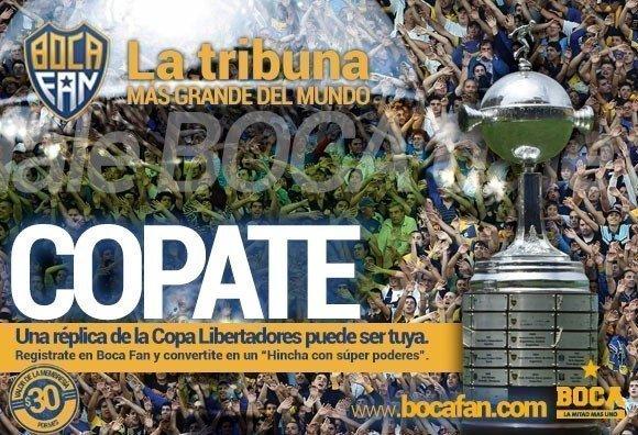 """Boca Juniors lanza """"Boca Fan"""", la tribuna más grande del mundo"""