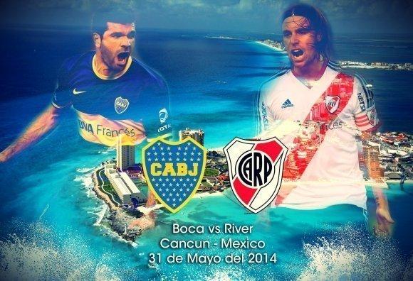 Confirmado: el Superclásico Boca – River en Cancún