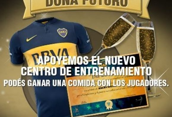 Boca le pide a sus hinchas donaciones para el nuevo Centro de Entrenamiento