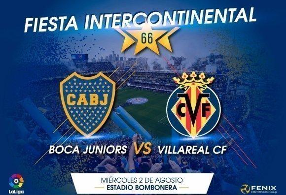 Se publicaron los precios de las entradas para el Boca – Villarreal